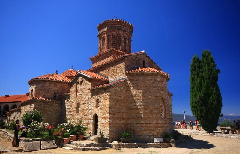 Makedonie-Ohrid-Sv Naum