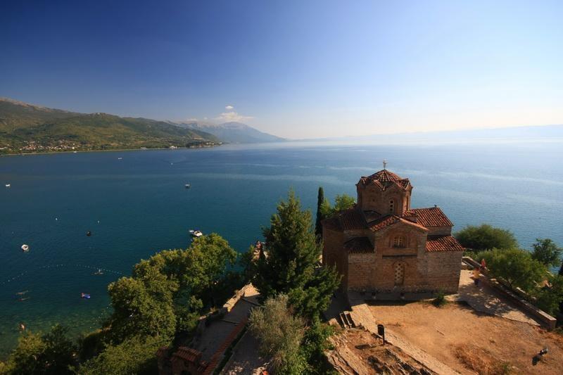 Makedonie-Ohrid-Sv Jovan Kaneo