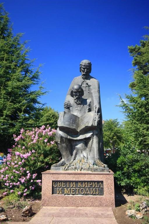 Makedonie-Ohrid-Ciril a Metodej