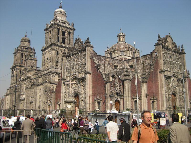 Mexico City Katedrála