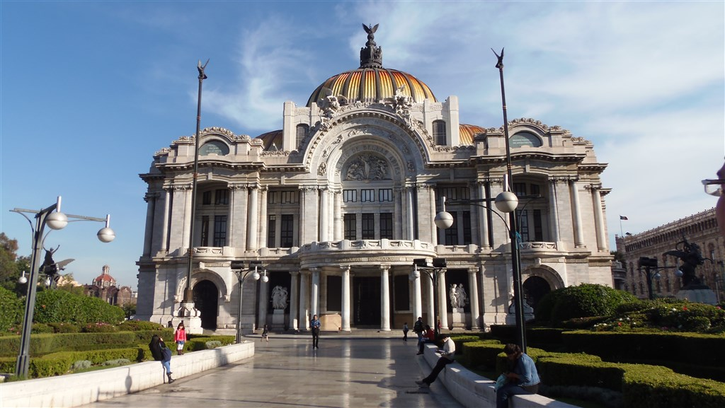 Mexico City - Palacio de Bellas Artes - Mexiko