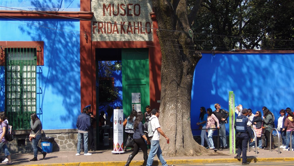 Mexico City - Coyoacán - Museo de Frida Kahlo - Mexiko
