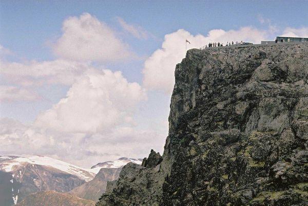 Norsko - Jedinečná vyhlídková hora Dalsnibba
