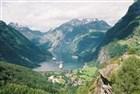 Norsko - obrázek Geiranger fjordu