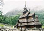 Norsko - Nejstarší dřevěný kostelík z 12. století