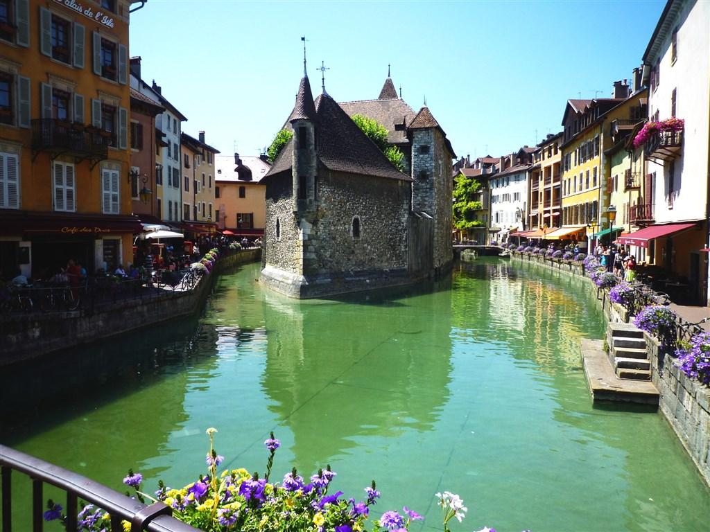 město Annecy