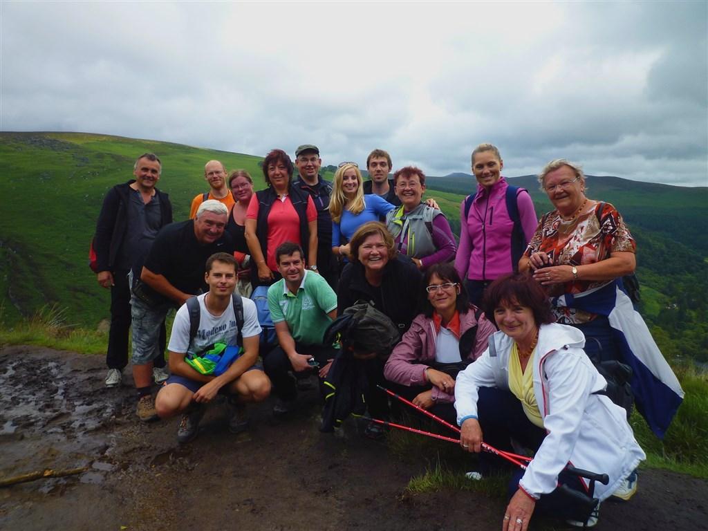 Pohodový týden v Irsku s pohodovou partou turistů