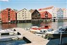 Trondheim, staré obchodní domy