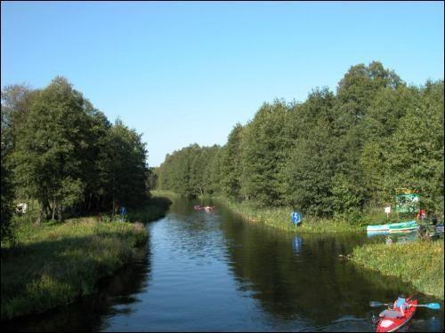 Polsko - Mazurské kanály