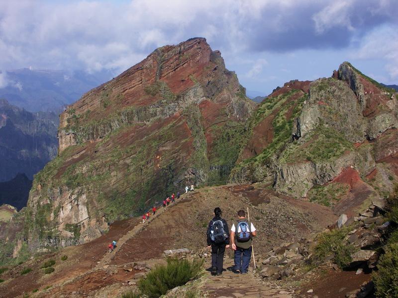 Madeira Treking sestup z Pico Areeiro