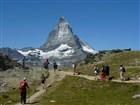 Švýcarské Alpy - Matterhorn