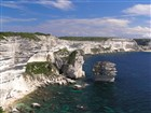 Korsika - Bonifacio - bílé útesy