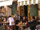 Korsika - místní restaurace v Bonifaciu