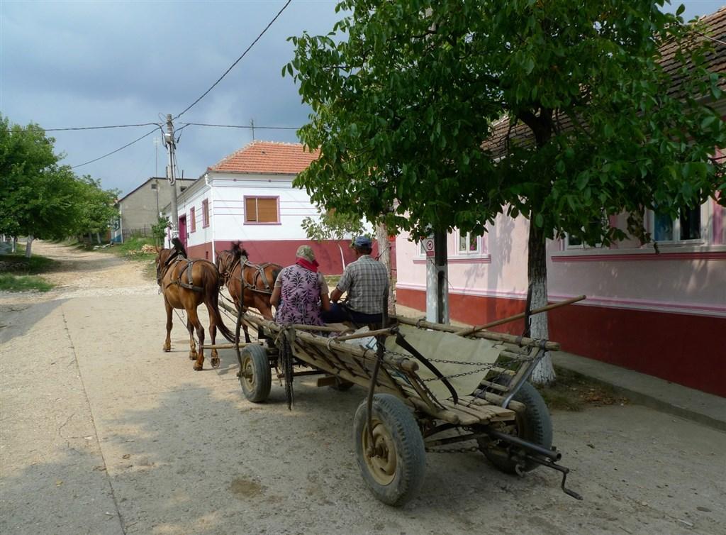 Rumunsko - Banát - česká vesnice Svatá Helena