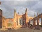 Ruiny katedrály v Coventry