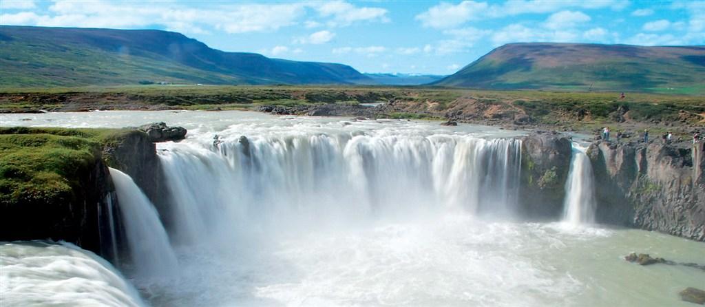 Islandské vodopády