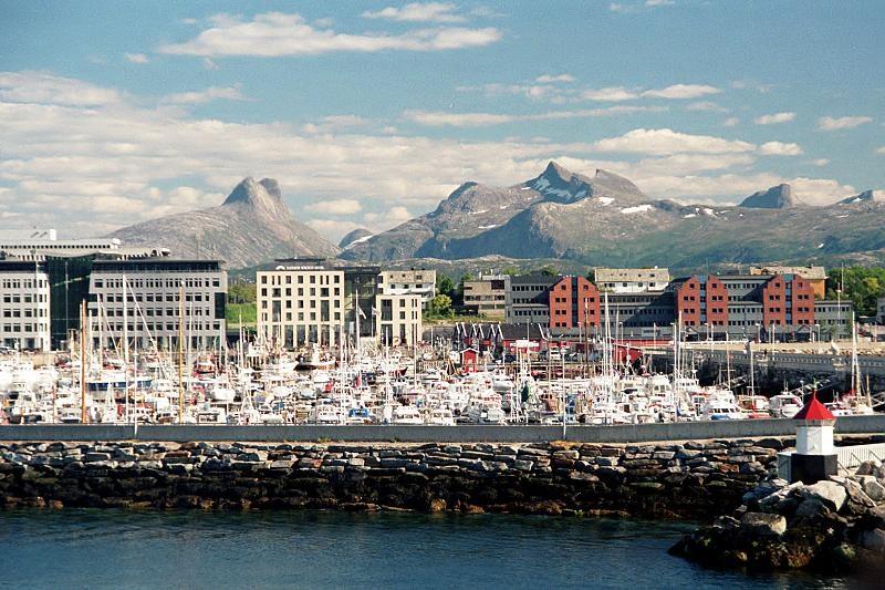 Norsko - Bodo - Hlavní město provincie Nordland