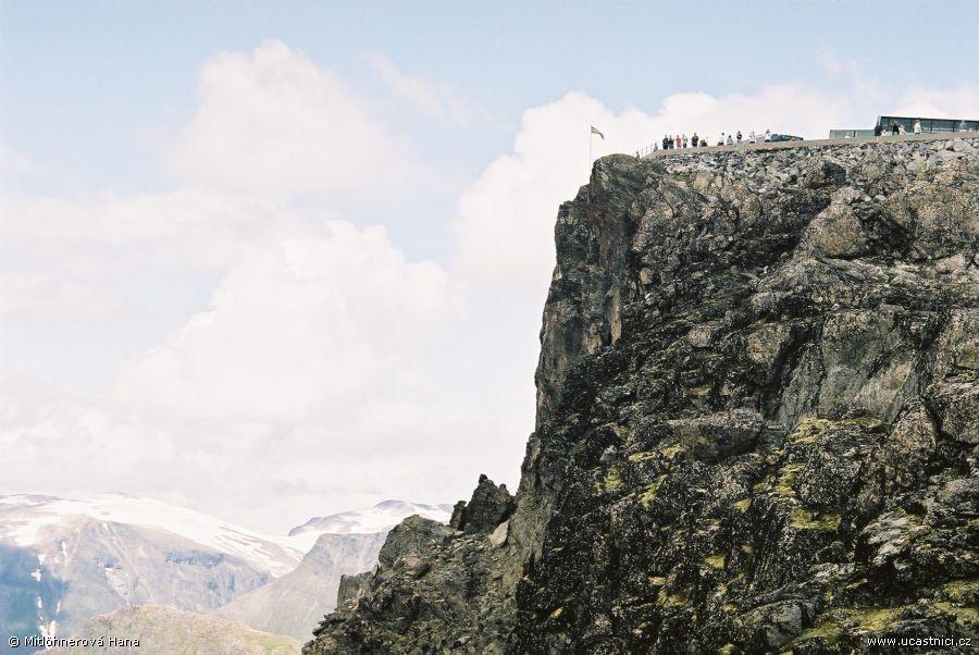 Norsko - hora Dalsnibba