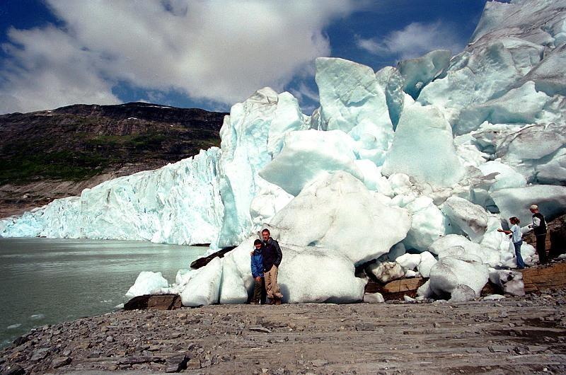 Norsko Saltfjellet-Svartisen ledovec Svartisen