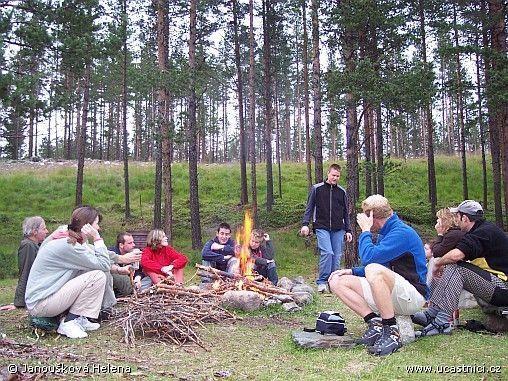 Norsko Sjoa tábořiště