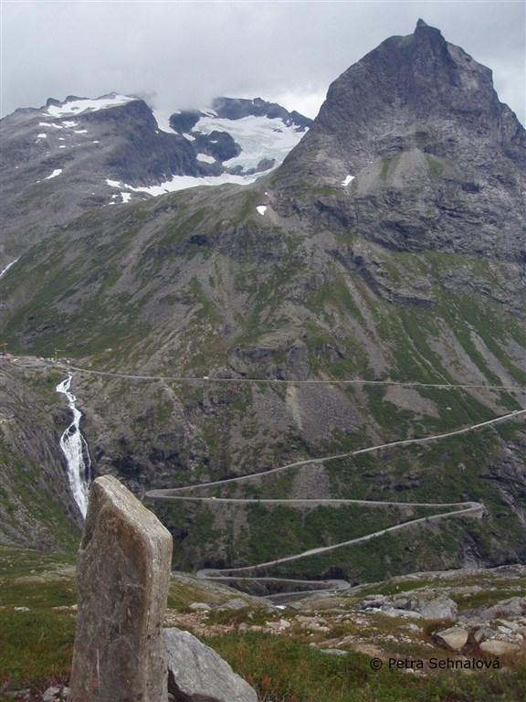 Norsko Trollstigen
