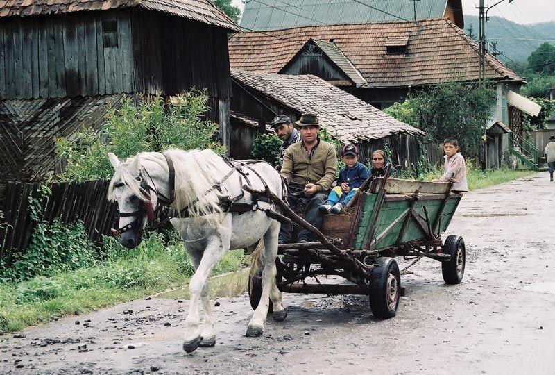 Rumunsko - vesnická idylka