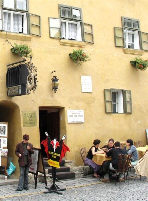 Rodný dům Vlada Tepeše Draculy v Sighsoasara