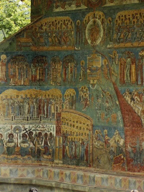 Rumunsko, klášter Voronet