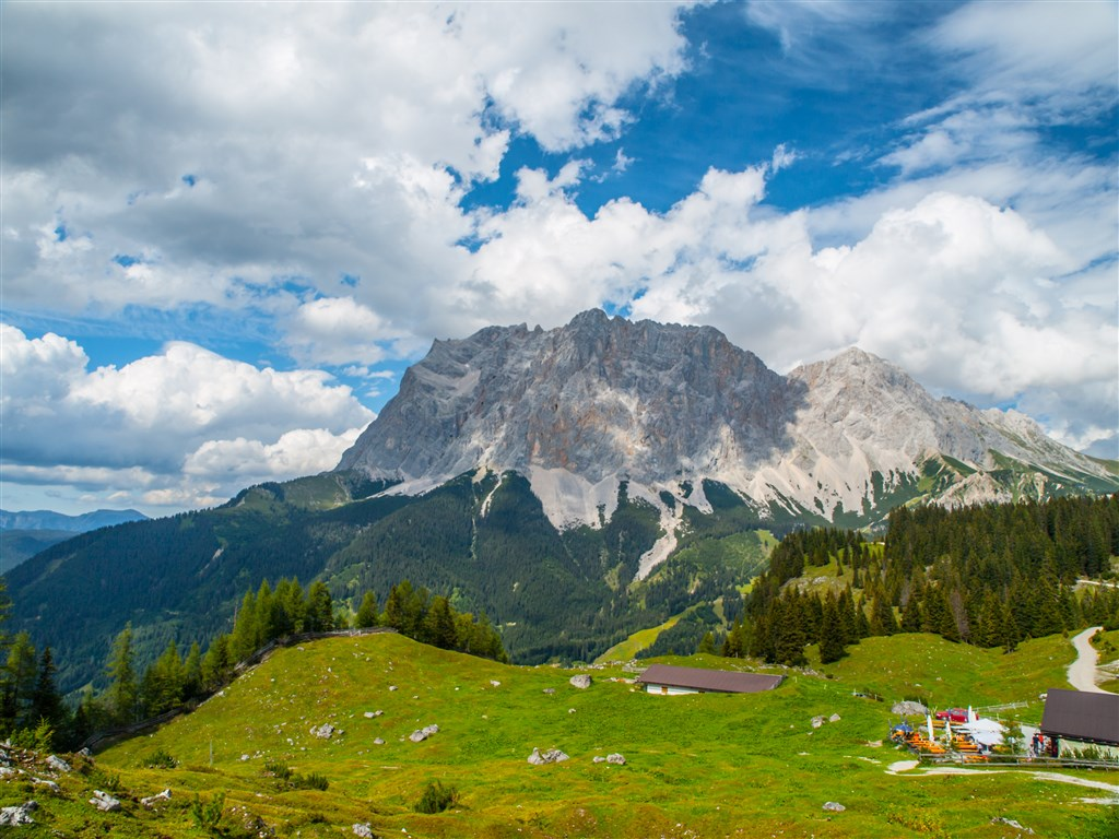Rakousko - Zugspitze