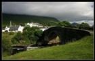 Skotsko - historický kamený most