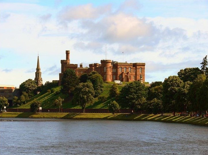 Skotsko - Inverness Castle