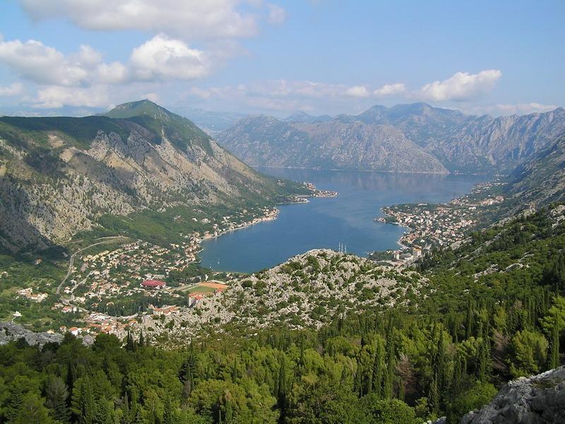 Černá Hora - Boka Kotorská