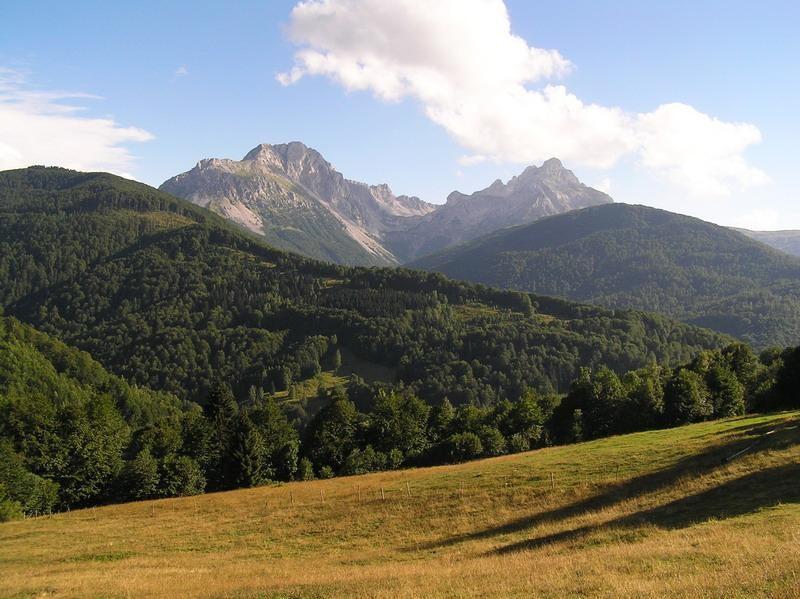 Černá Hora - Komovi - Vrcholky hor