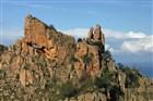 Korsika - Calanche bizarní skály nad mořem jsou cílem naší procházky