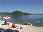 Koupání při pikniku ve Skadarské jezeře