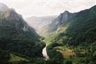 Nejhlubší evropský kaňon u známého mostu přes Taru