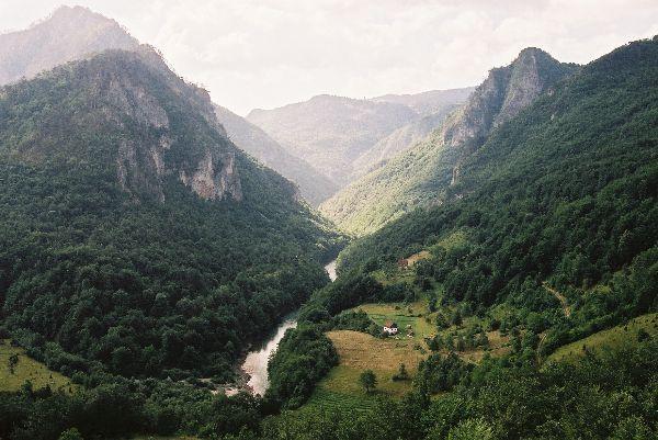 Tara, nejhlubší kaňon Evropy