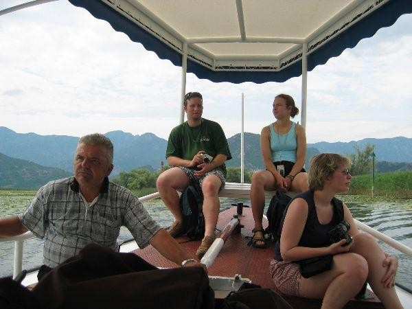 Výlet na Skadarké jezero