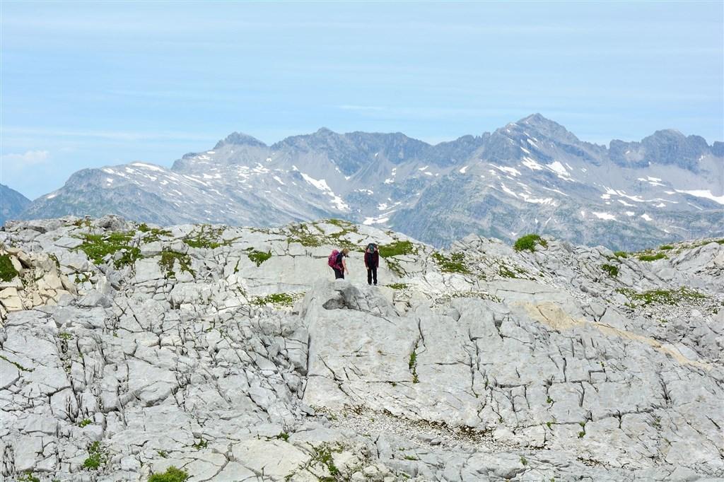 Rakousko, údolí Lechtal, Rüfikopf