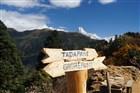 Nepál - výhled na Annapurnu