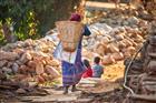 v okolí horské vesničky Dhampus