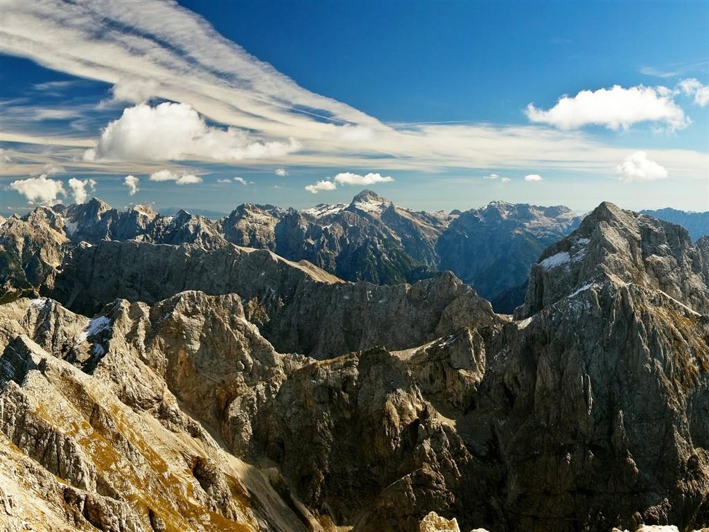 Julské Alpy ve Slovinsku