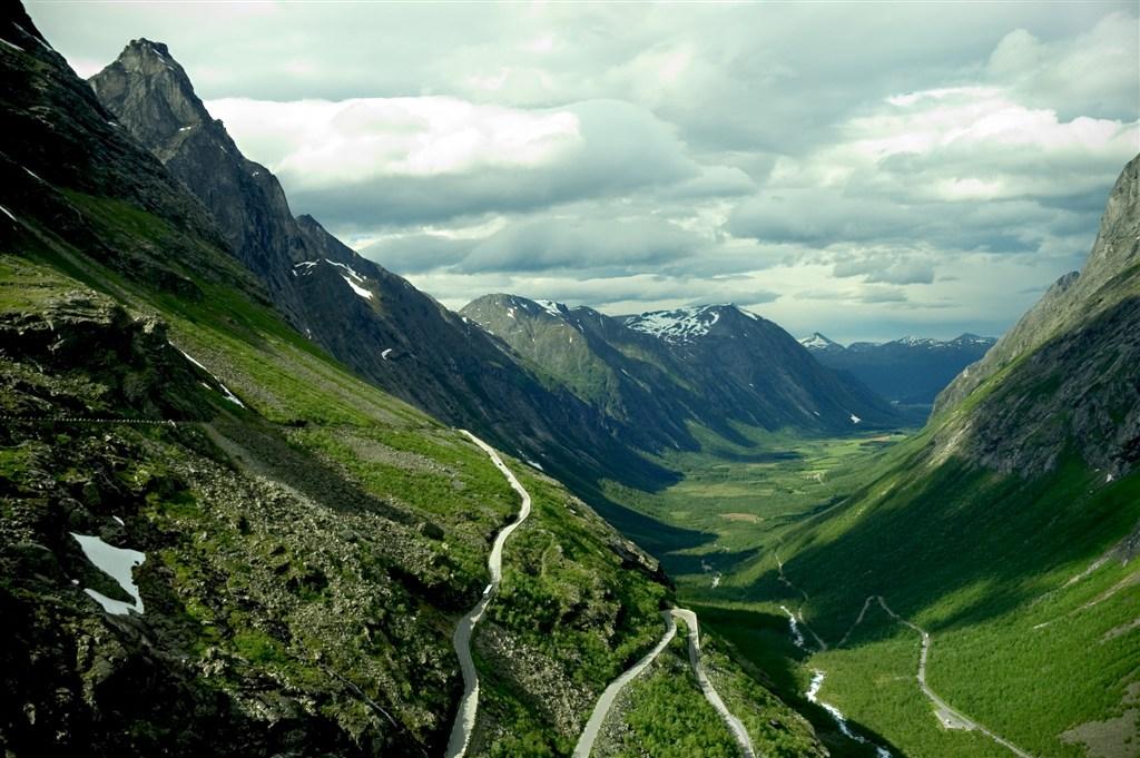 Norsko - Trollstiegen