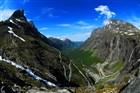 Norsko - Trollstigen - žebřík trolů