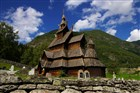 Norsko - Borgund - sloupová kostel