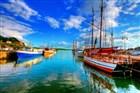 historická loděnice v Oslo - Norsko