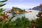 Itálie - Sicílie - zátoka v Taormině