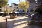 Mallorca - náměstí Soller.