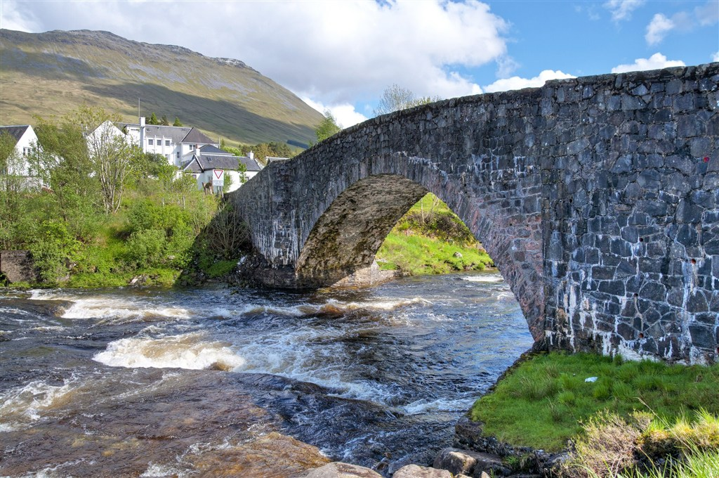 Skotsko - Bridge of Orchy