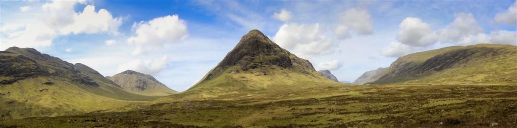 Skotsko - Glen Coe - panorama